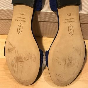 SJP by Sarah Jessica Parker Shoes - Sjp by Sarah Jessica Parker Bobbie flats blue